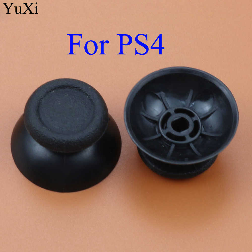 Bâton de pouce analogique noir en plastique remplacer pour PlayStation 4 PS4 Pro PS3 pour Xbox one pour contrôleur Xbox 360/WII