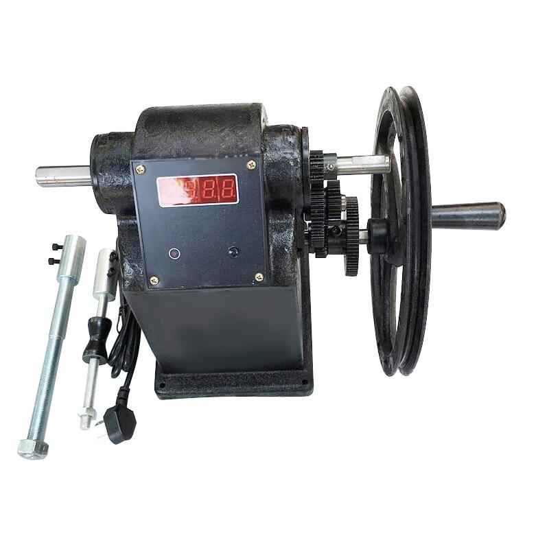 High Quality NZ-7 New Manual Hand Coil Winding Machine Coarse Wire Diameter Electronic Winding Machine