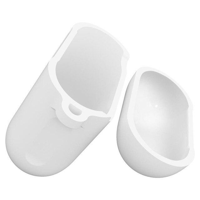 Фото для apple airpods 1 2 bluetooth беспроводной чехол для наушников