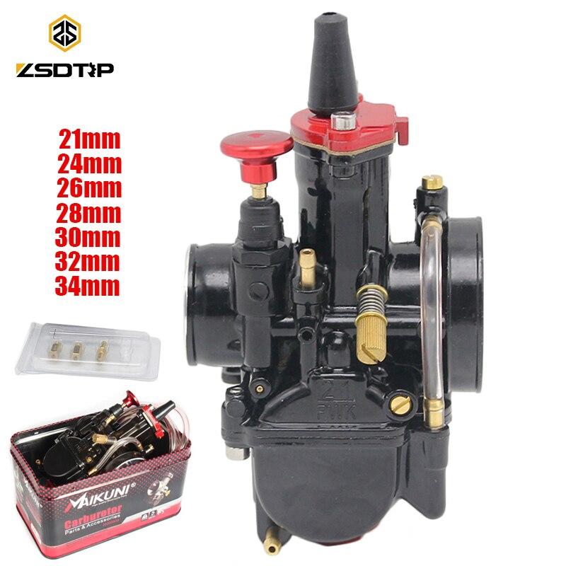 ZSDTRP 21 24 26 28 30 32 34 мм Универсальный Maikuni PWK карбюратор части скутеры с электроприводом Мотоцикл ATV 125CC 150CC