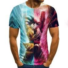 Camiseta con estampado de caracteres nuevos en 3D para hombres y mujeres, camisetas de anime para niños, tops en 3d, camiseta fr