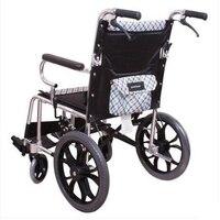 Balık atlama tekerlekli sandalye H032c kat hafif tekerlekli sandalye aşan hafif taşınabilir yaşlı seyahat yürüyüş yerine araç küçük yuvarlak