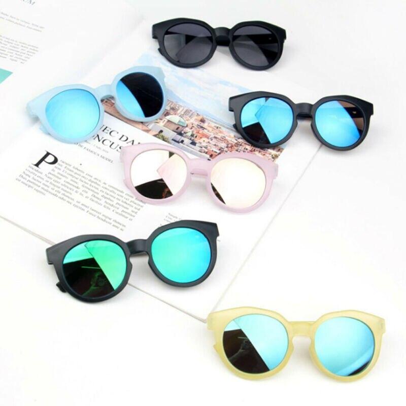 Mode 2020 bébé enfants garçons filles lunettes de soleil enfant en bas âge enfants UV400 cadre lunettes en plein air mignon 2-8 ans