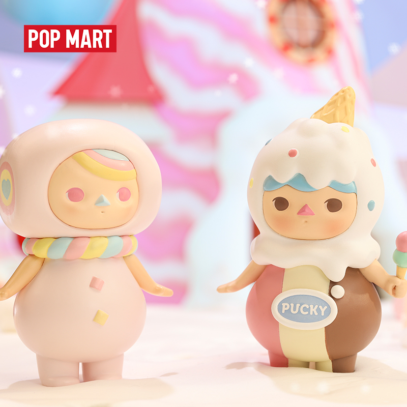 POPMART Pucky Sweet Babies Blind Box Collection Doll Collectible Cute Action Kawaii Figure Gift Kid Toy Free Shipping 3.28 Sale(China)