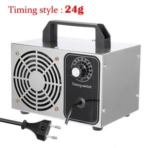 Image 1 - Tragbare Ozon Generator 220V 24g ozonisator Luft Reiniger Sterilisation Reinigung Ozono Generator Deodorant Desinfektion ausrüstung