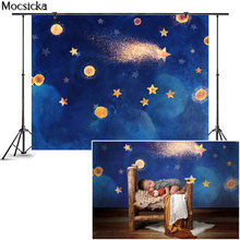 Mocsicka мерцающий фон для фотосъемки новорожденных Маленькая
