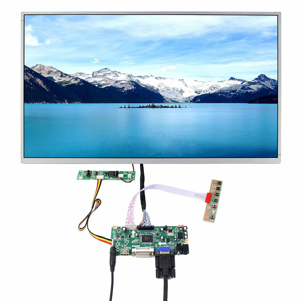 Latumab New N156B6 L0B LCD Display+Controller Board Driver Kit  N156B6-L0B LCD+HDMI+VGA+USB 1366×768