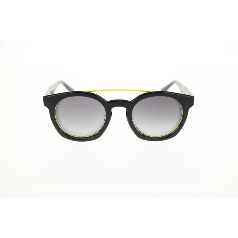 Unisex sunglasses dl 0251 01c bone black organic oval aval 49-23-140 diesel