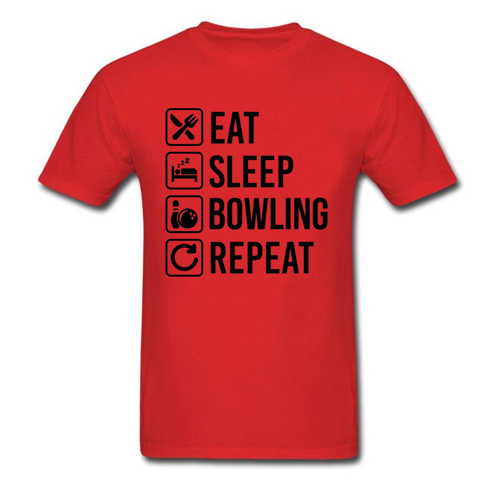 Eat Sleep Bowling Repeat_red