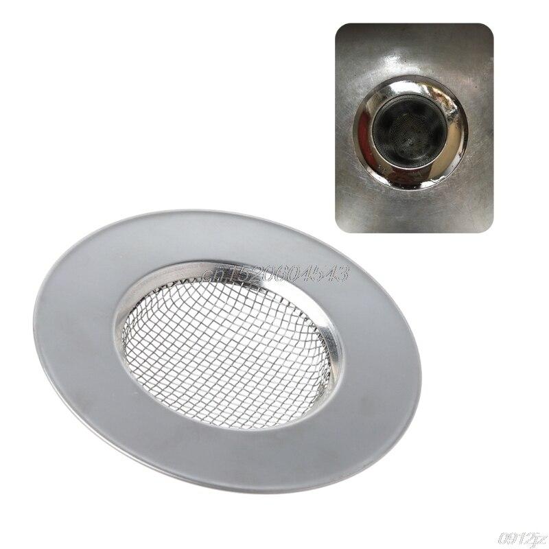 Stainless Steel Mesh Waste Sink Strainer Disposer Convenient Sink Drain Sewer Stopper Filter Kitchen Tool