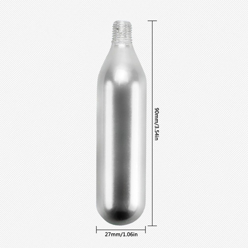 Carbon Dioxide 16g Thread Small Cylinder Bicycle Portable Precision Forged Steel Inflatable Bottle AP-016G