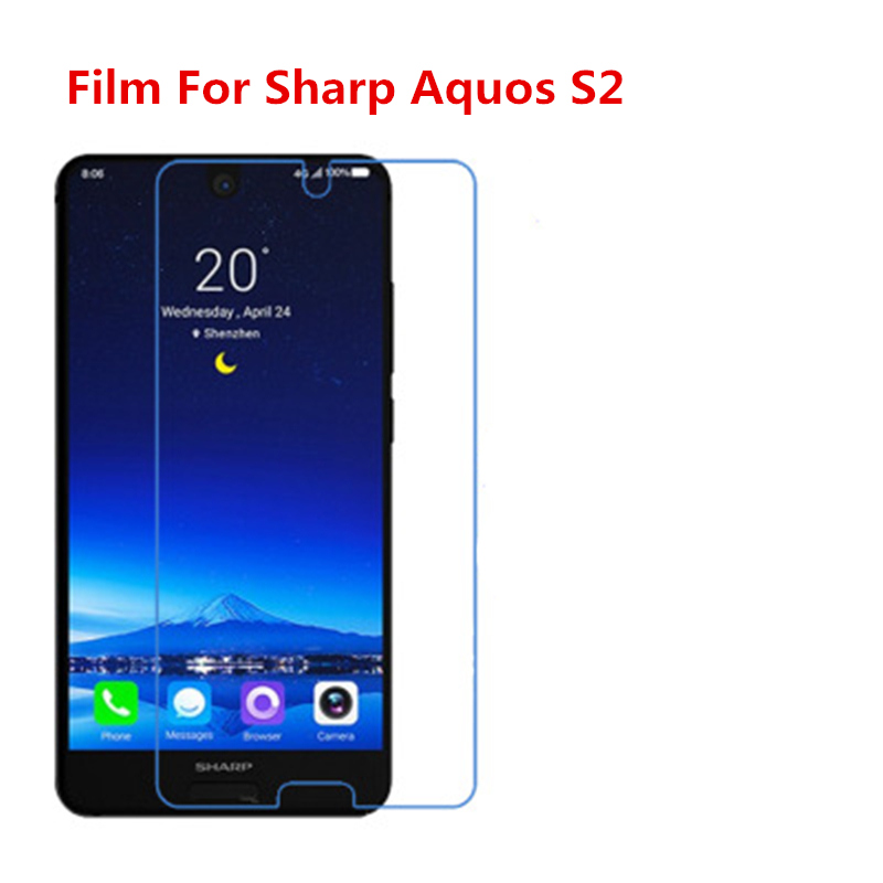1/2/5/10 Pcs Ultra Thin Clear HD LCD Screen Protector Film With Cleaning Cloth Film For Sharp Aquos S2,