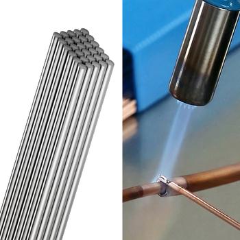 Niskie temperatury proste pręty spawalnicze Easy Melt Aluminium Flux Cored elektrody spawalnicze drut lutowniczy do Aluminium tanie i dobre opinie worbright CN (pochodzenie) Welding Rod 0255H for Aluminum Welding above 380℃ 33cm 13in Aluminium Flux Cored Welding Rods