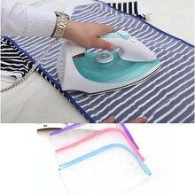 Защитная гладильная пластина DIY5 для штанов, изоляционная сетчатая накладка или защитная накладка, плоская гладильная накладка с вышивкой