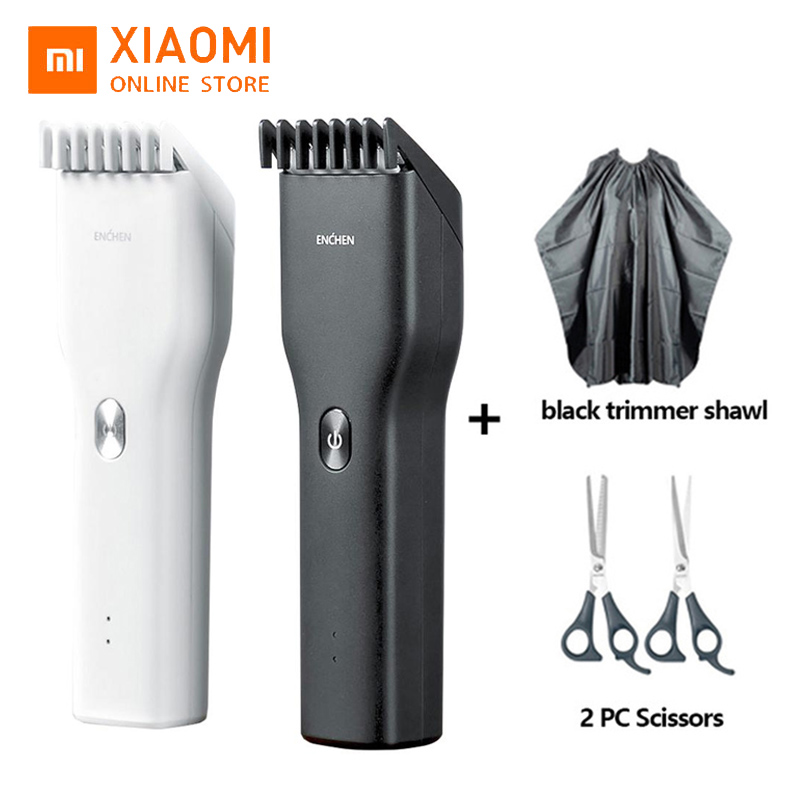 Xiaomi ENCHEN Boost Trimmer Men's Electric Hair Clippers Professional Beard Smart USB Cordless Rechargeable Low Noise