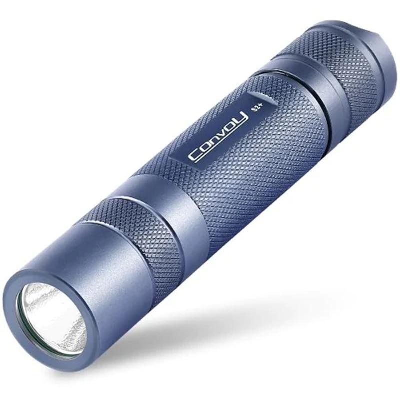 Convoy S2+ 7135x6 5 Modes XML2 940 Lumens LED Flashlightt 1x18650 Titaniums For Camping Torch Lantern Lamp Hunting Spotlights