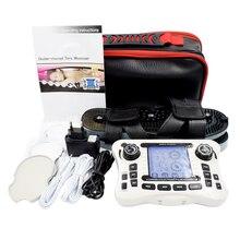 Двухканальный выход, электронный импульсный массажер, EMS, обезболивающий массажер, электрический стимулятор мышц нерва, физиотерапия