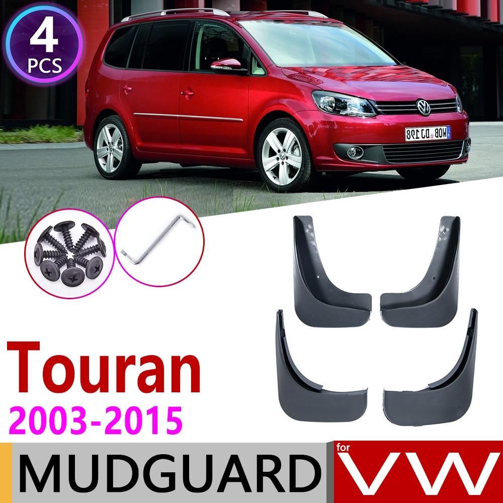 Mudfalp for Volkswagen VW Touran 2003 2015 Fender Mud Flaps Guard Splash Flap Mudguards Accessories 2004 2005 2008 2010 2014 MK1