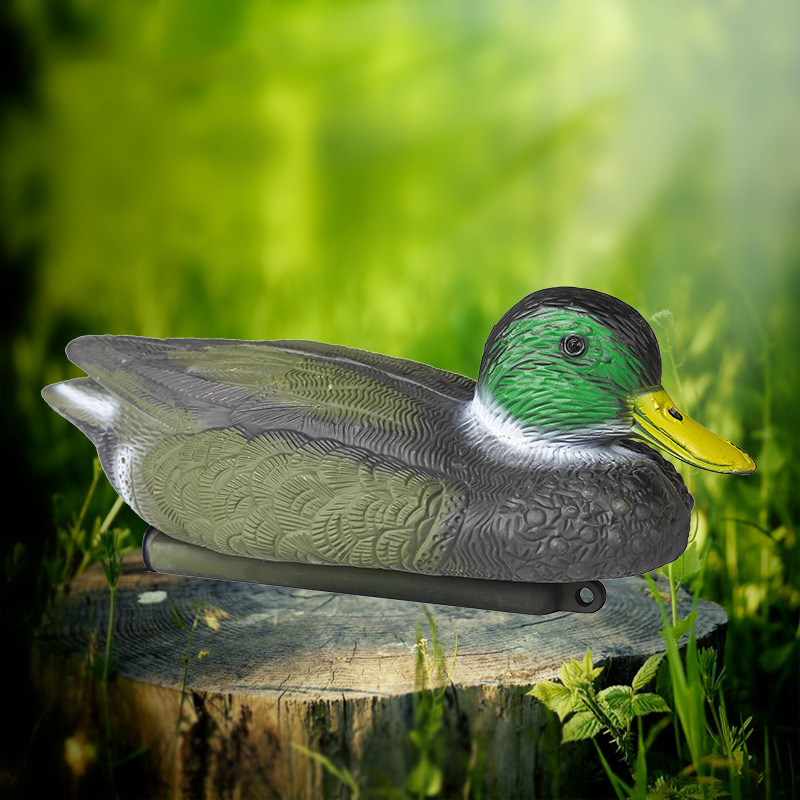 2020 Tactical Outdoor Duck For Hunting Target Tackle For Hunting Pool Pond Hunting PE Material Floating Fake Male Duck Hot Sale