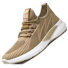 2020 Spring New Men's Shoes Fly-woven Mesh Sports Shoes Net
