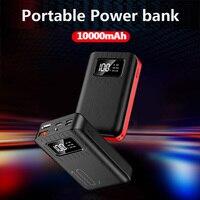 10000mah 전원 은행 2.1A 빠른 충전 휴대용 외장 배터리 팩 Powerbank For iPhone Android Xiaomi for Smartphone Poverbank