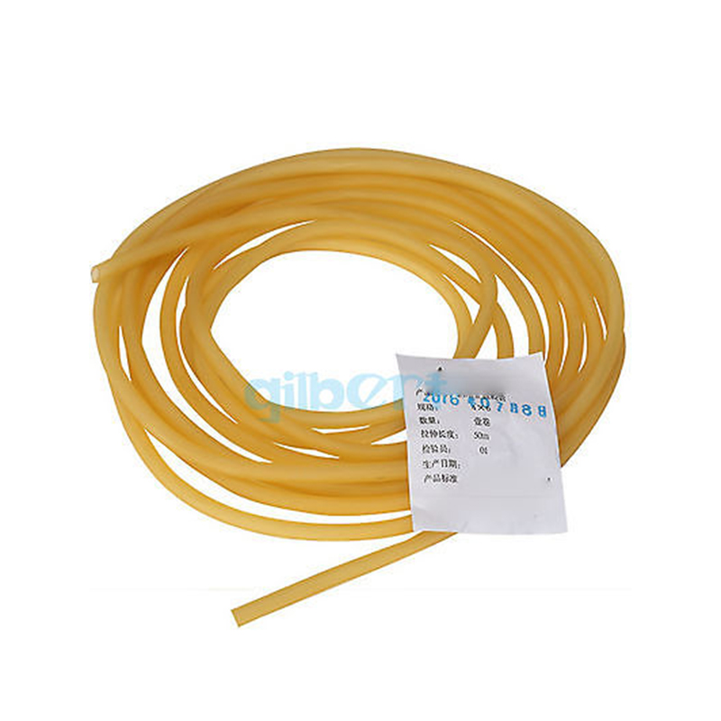Elastic Natural Latex Rubber Band Tube 1M 4x6 5x7 5x10 6x9 8x12 9x12mm