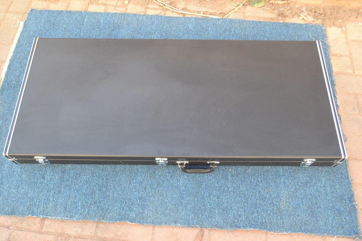 Nouveau Hardcase de guitare électrique, pour guitare électrique à Double cou en bois - 2