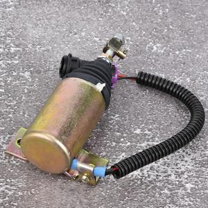 Image 5 - 12V Kraftstoff Abgeschaltet Stop Magnetventil XHF 1121 E483310000093 Fit für Foton 483 Abgeschaltet Magnet