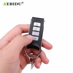 Image 5 - KEBIDU جهاز التحكم عن بعد 4 قناة الاستنساخ الكهربائية لبوابة باب المرآب السيارات المفاتيح اللاسلكية 433Mhz نسخة رمز عن بعد