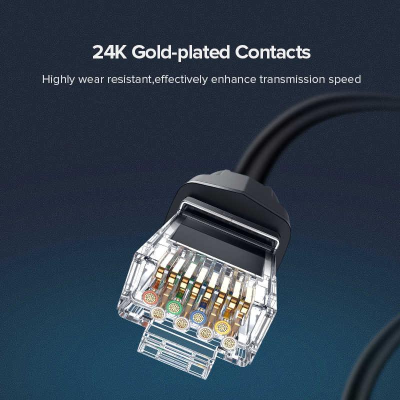 猫 8 ネットワーク RJ45 sftp lan パッチケーブルツイストペア線サポート高速 25 5gbps の 2000 用モデム、ルータ、 pc 、 PS4 、 xbox one