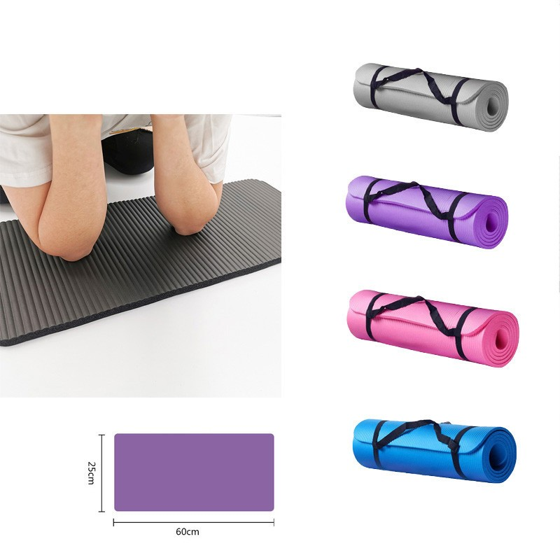 Yoga Mats Small 15 mm Thick And Durable Yoga Mat Non Slip Carpet Mat For Beginner Environmental Fitness Gymnastics Mats Workout