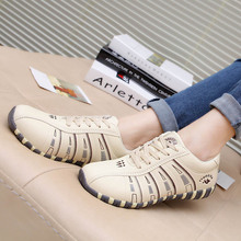 2019 Spring Korean college fashion flat-bottomed Women's Vulcanize shoes low comfort students breathable out shoes Joker tide 2018 new style buttons flat bottomed shoes women s fashion shoes suede women s shoes college students