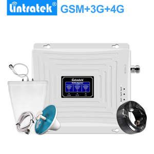 Lintratek усилитель сотовой связи репитер gsm 3g усилитель gsm 3g сигнала KW20L-GW антенна Полный набор корабль с российского склада