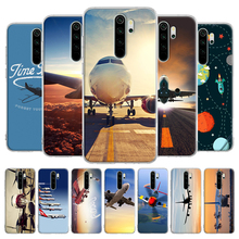 Airplane At The Sunrise aircraft plane Soft TPU Case For Xiaomi Redmi Note 8T 6 7 8 9 Pro 9S 6A 7A 8A K20 K30 Pro Silicone Cover