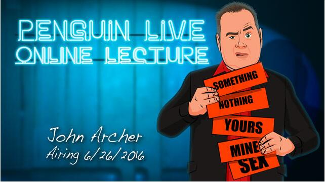 John Archer Penguin Live ACT MAGIC TRICKS