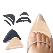 New Scalable Regulated Shoes Head round Tip Heels Universal Soft Thick Forefoot Protection  women's  sole protector