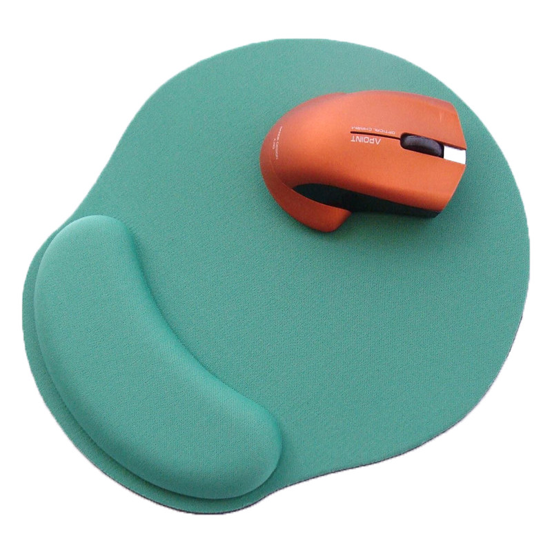 Ergonomic Memory Foam Mouse Pad Wrist Rest Support Wrist Cushion Support Lightweight Mousepad Mouse Pain Relief At Home Or Work