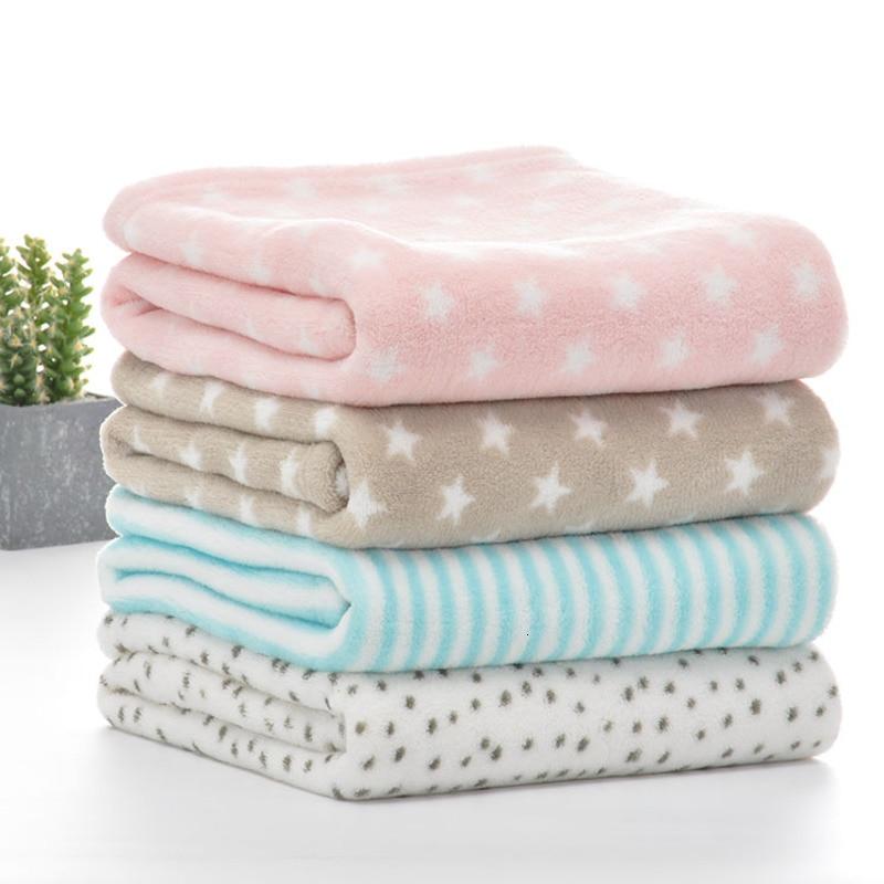2019 New Born Kid Comfortable Blanket Winter Soft Keep Warm Sofa/Baby Blanket Baby Boy Girl Blanket Flannel Swaddle Lamb Villus