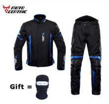MOTOCENTRIC Motorcycle Jacket + Pants Suit Waterproof Coldproof Moto Riding Motorbike Men Protection#