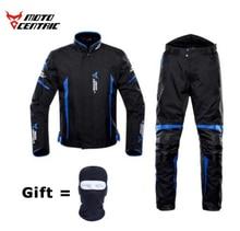 MOTOCENTRIC Motorcycle Jacket + Pants Suit Waterproof Coldproof Moto Riding Motorbike Men Protection#