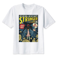 Stranger Things T Shirt 2017 Anime T-shirt Men O-neck Mens Tee Shirts High Qualty Men Shirt Summer Men Tshirt цена и фото