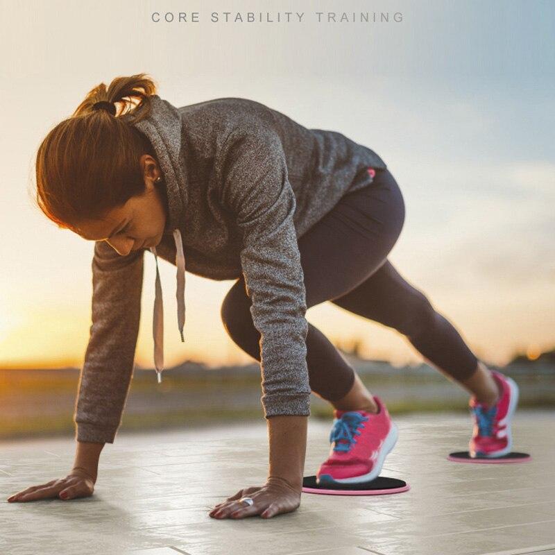 treinamento fitness slide placa slider abdominal triângulo