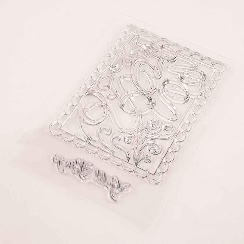 Anéis de silicone selo claro diy scrapbooking gravando álbum de fotos decorativo cartão de papel artesanato arte artesanal presente d2td