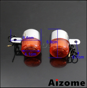 Image 3 - Motorcycle Amber Turn Signal Lamp For Honda Little P25 P50 Z50 Z50A K1/K2 ST50 ST70 CT70 K3 12V 10W Bulb Blinker Indicator Light