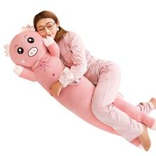 купить 1Pc 70-130cm Soft Kawaii Birthday Party Plush Toy Giant Big Teddy Bear Dog Rabbit Pig Cute Stuffed Animal Gift for Kid Baby Doll дешево