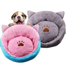 Lit double usage pour animal de compagnie chat chien nid de couchage détachable épaississement chaton maison rembourrée pour animaux de compagnie canapé lit oreilles de chat chenil