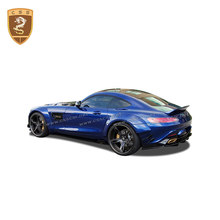 Hoge Kwaliteit Carbon Fiber Spoiler Staart Kofferbak Wing Auto Accessoires Voor Mercedes Benz Amg Gt Amg Pd Coupe Spoile(China)