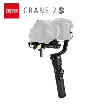 ZHIYUN Official Crane 2S 3-Axis Handheld Gimbal Camera Stabilizer for All DSLR Canon BMPCC Sony Panasonic Cameras zhiyun crane 2 dslr gimbal stabilizer 3 axis brushless handheld video camera stabilizer kit for mirrorless camera load 3200g