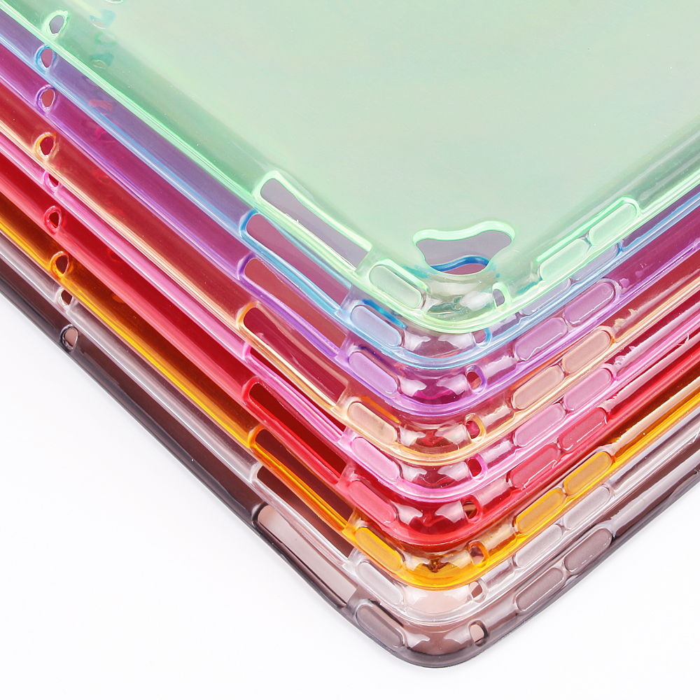 TPU For Soft 2020 Case 10.2 Cover Shockproof 10.2 iPad iPad Silicone Transparent for