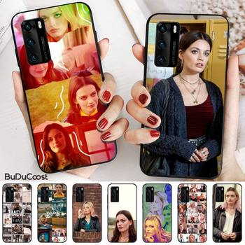 Emma Mackey Maeve Wiley Black Cell Phone Case for huawei p30 lite pro p20 lite p10 p smart plus z 2019 2018 image